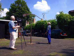 """Dokumentarfilm """"Ein Leben mit Stahl - Achim Kühn"""""""